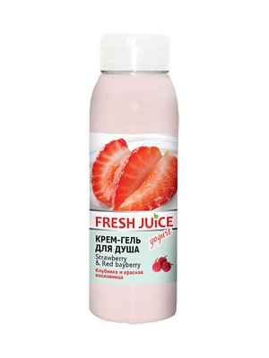 Крем-гель для душа Strawberry & Red Вayberry (300 мл) | 3746609