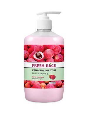 Крем-гель для душу Litchi & Raspberry (750 мл) | 3746624