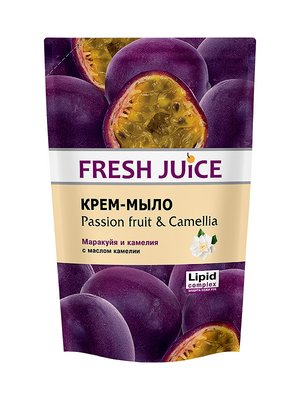 Крем-мило Passion Fruit & Camellia (460 мл) — дой-пак | 3746635