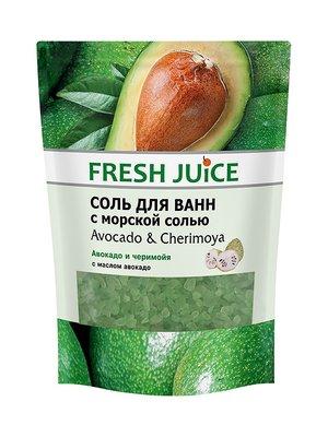 Соль для ванн Avocado & Cherimoya (500 мл) — дой-пак | 3746648