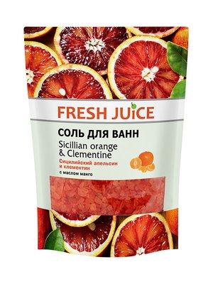 Сіль для ванн Sicilian Orange & Clementine (500 мл) — дой-пак | 3746651