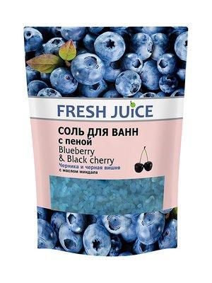 Соль для ванн с пеной Blueberry & Black Cherry (500 мл) — дой-пак | 3746652