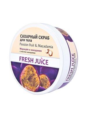 Сахарный скраб для тела Passion Fruit & Macadamia (225 мл) | 3746670