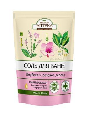 Сіль для ванн «Вербена і трояндове дерево» (500 г) — дой-пак | 3746703