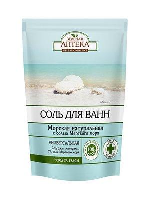 Сіль для ванн «Морська натуральна» (500 г) — дой-пак | 3746706