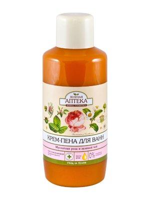 Пена для ванн «Мускатная роза и зеленый чай» (1000 мл) | 3746729