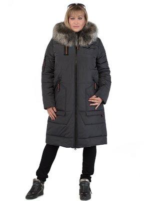 Пальто графитового цвета | 3750832