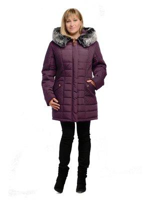Пальто вишневого цвета | 3750855
