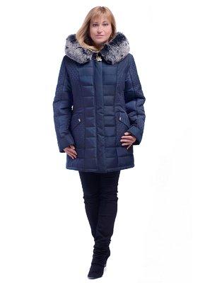 Пальто темно-синее | 3750857