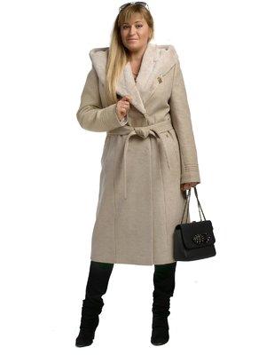 Пальто бежевое | 3750859