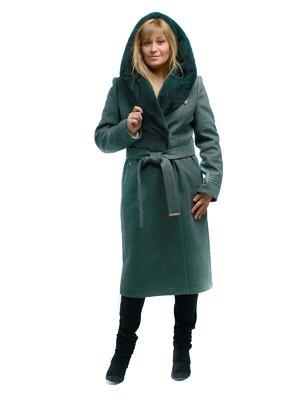 Пальто оливкового кольору   3750862