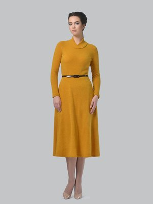 Сукня гірчичного кольору   3773404