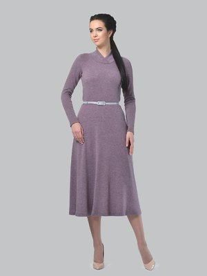 Платье серо-сиреневое | 3773405