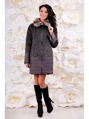 Пальто двоколірне | 3774427