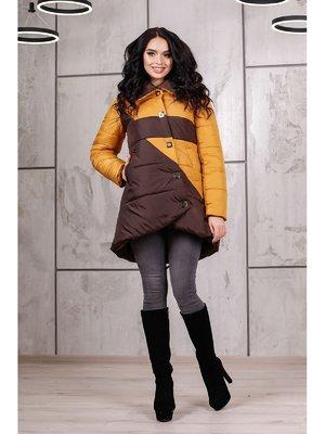 Куртка горчично-коричневая | 3774631