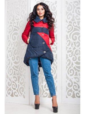 Куртка червоно-синя | 3774641
