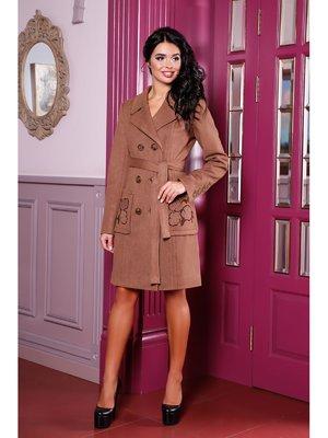 Пальто кавового кольору | 3774662