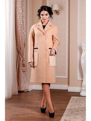 Пальто персикового кольору   3774758