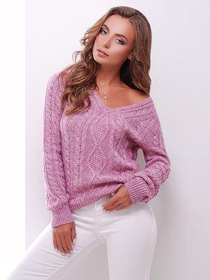 Пуловер бузковий | 3775506