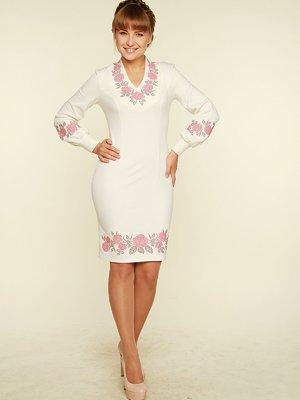 Платье молочного цвета с вышивкой   3712559