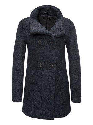 Пальто темно-синее | 3777536