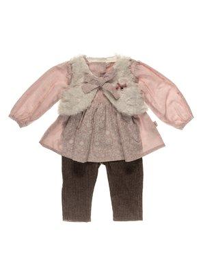 Комплект: блуза, жилет і штани | 3777338