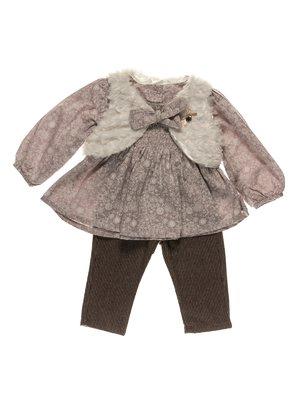Комплект: блуза, жилет і штани | 3841099