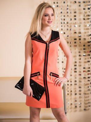 Платье коралловое | 3646068