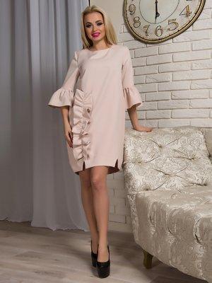Платье бежевое | 3645908