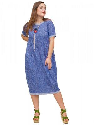 Сукня кольору електрик | 3778403