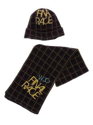 Комплект: шапка і шарф | 3778159