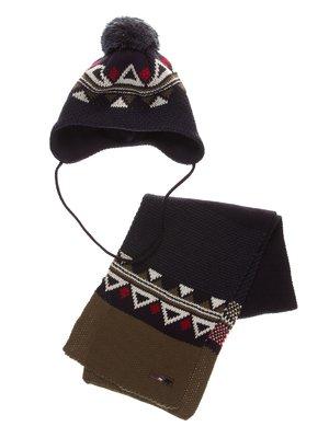 Комплект: шапка і шарф | 3778145