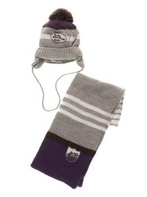 Комплект: шапка і шарф | 3778144