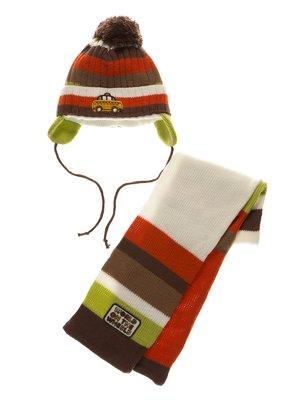 Комплект: шапка і шарф | 3778155
