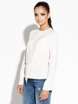 Блуза кольору екрю   3779875