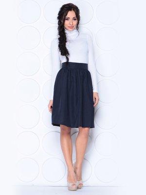 Юбка черно-синего цвета | 3779763