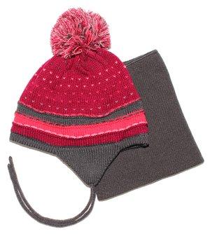 Комплект: шапка і манішка | 3670963