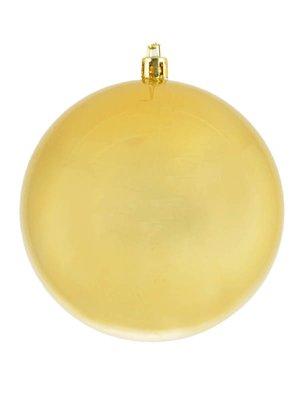 Куля золотиста з перламутром (10 см) | 3782797