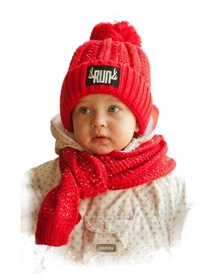 Комплект: шапка та шарф   3765517