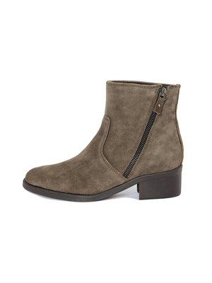 Ботинки оливкового цвета | 3787083