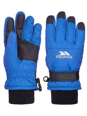 Перчатки синие детские | 3785195