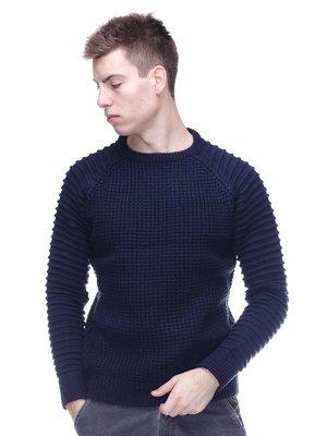Джемпер темно-синій | 3783852