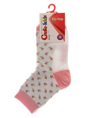 Шкарпетки сіро-рожеві | 3750252