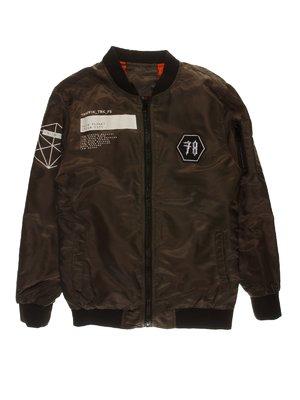 Куртка цвета хаки | 3784290
