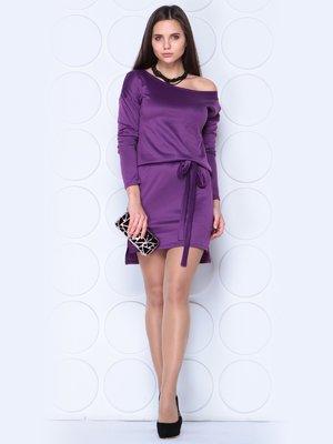 Платье темно-фиалкового цвета | 3788876