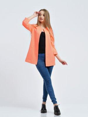 Кардиган персикового цвета | 3793377