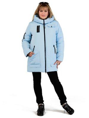 Пальто голубое | 3750842