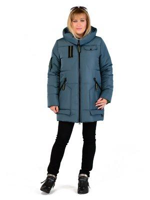 Пальто джинсового цвета | 3750843
