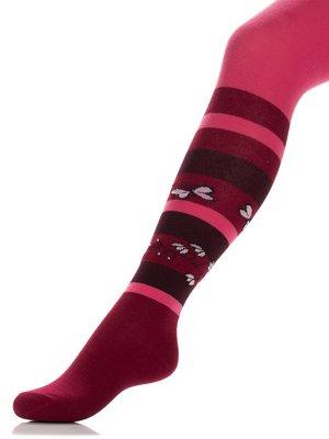 Колготки темно-рожеві | 3750485