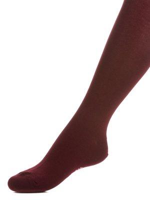 Колготки темно-бордові   3750096